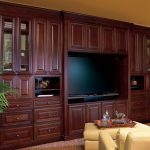 Entertainment Center - 1720R Cherry Bordeaux