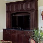 Entertainment Center - 1720R Cherry Java