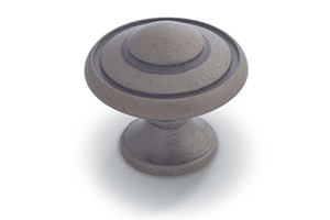 Beveled Knob French Nickel
