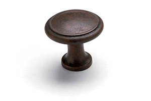 Button Knob Patina