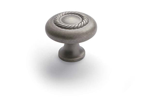 Rope Knob Weathered Nickel