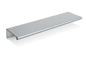 Tab Pull Brushed Nickel Large