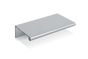 Tab Pull Brushed Nickel Medium
